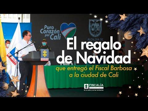 Fiscal Francisco Barbosa: El regalo de Navidad para Cali