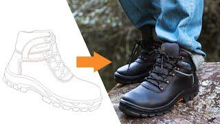 Como o calçado Marluvas é desenvolvido?