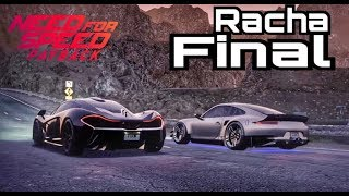 NEED FOR SPEED PAYBACK  PORSCHE VS MCLAREN P1 - RACHA FINAL