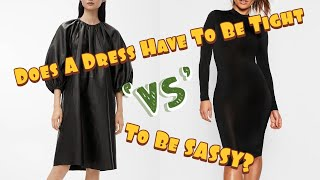 How To Style A Loose Fitting Dress   Featuring Special Guest