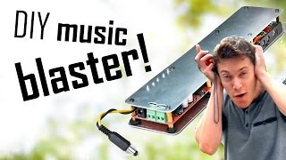Summer Project - Make An INSANELY LOUD Bluetooth Amplifier!