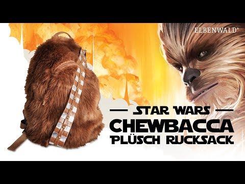 Star Wars: Der Chewbacca Plüsch-Rucksack