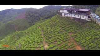 preview picture of video 'AERIAL VIEW CAMERON HIGHLANDS'