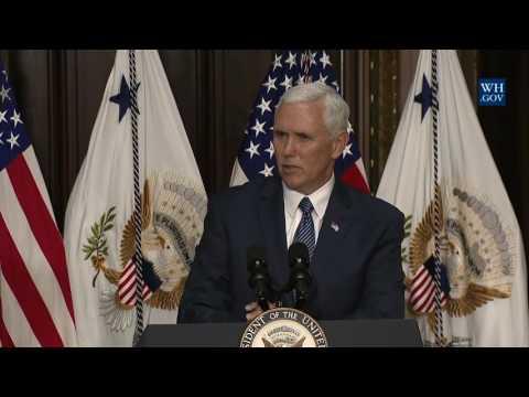 駐日米大使に就任するウィリアム・ハガティ氏の宣誓式 / VP Pence Swears In U.S. Ambassador to Japan Hagerty