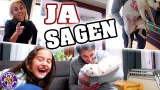 1 TAG Lang JA SAGEN Challenge   Egal Was Passiert   Family Fun