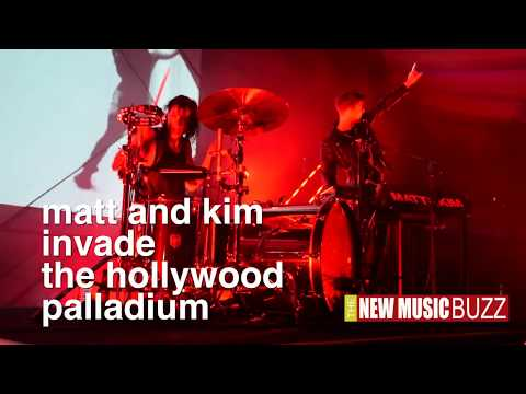 MATT AND KIM LIVE @ The Hollywood Palladium