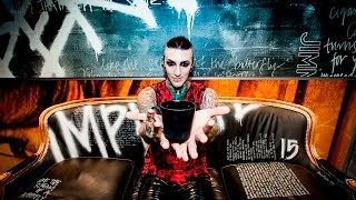 Chris Motionless speaks about touring with Slipknot collaborating with Clown on a