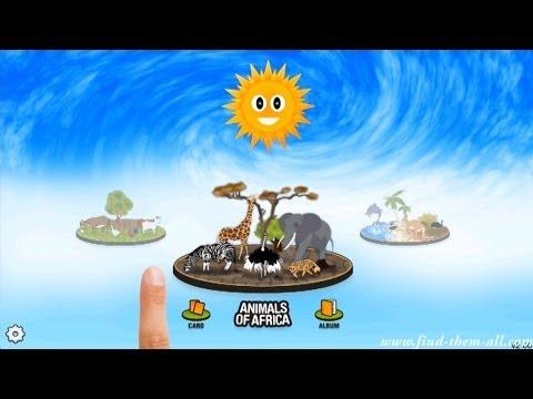 Video of wildlife & farm animal for kid