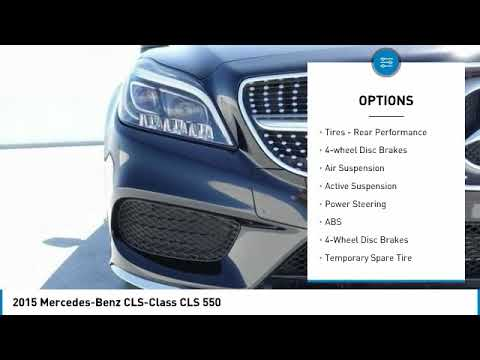 Pre-Owned 2015 Mercedes-Benz CLS CLS 550