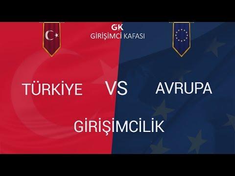 Türkiye ve Avrupa'da Girişimcilik