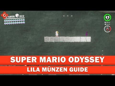 Super Mario Odyssey Alle Sammelobjekte Lila Münzen Mondland