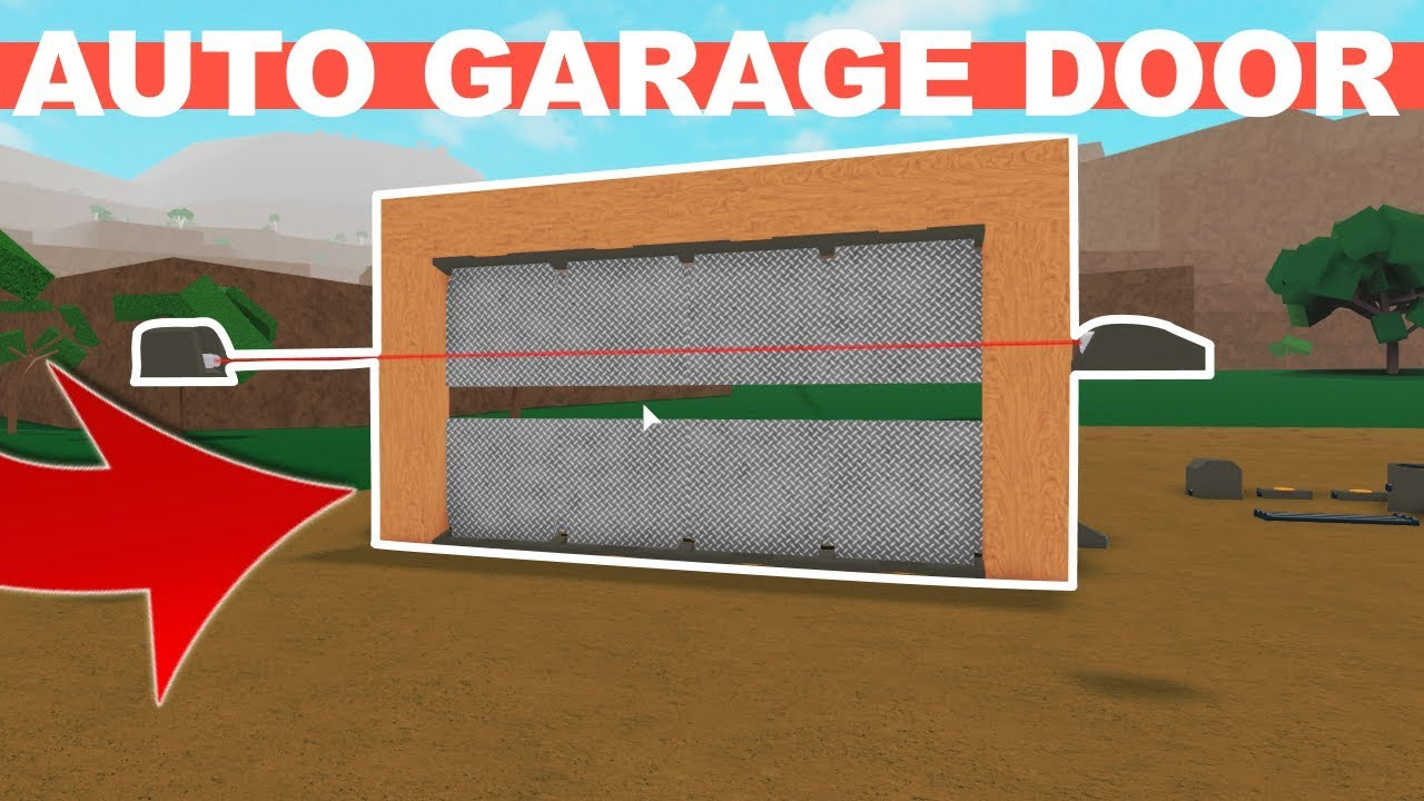 How To Build A Garage Door Using Hatches In Lumber Tycoon 2