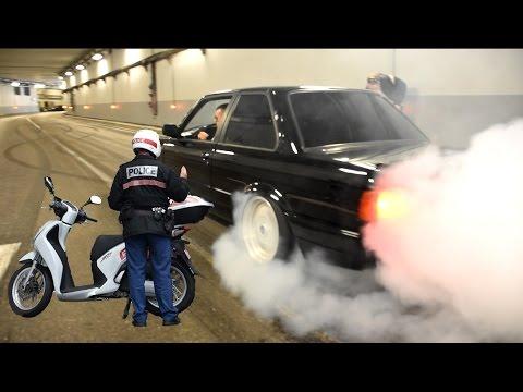 Đường hầm 'bốc khói' trước sự công phá của hàng chục siêu xe