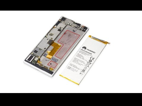 How to fix broken Huawei P7 battery/battery cover