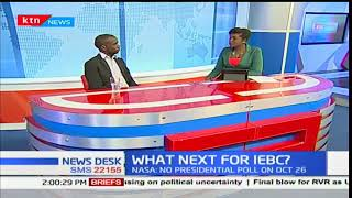 Newsdesk interview: What is next for IEBC? Part 2