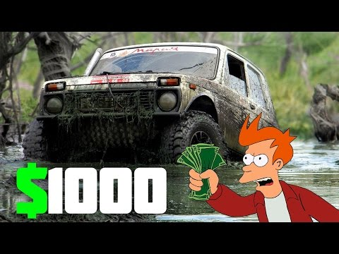 TOP 3 Low-Cost Off-Road 4WD Cars Under $1000 In 2017