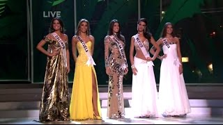Miss Universe 2008 - TOP 5