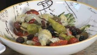 Setting Up An Antipasto Platter : Italian Appetizers