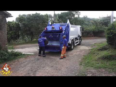 Caminhões da Coleta de Lixo começam a trabalhar