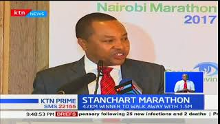 STANCHART MARATHON: 15th Edition to be held on 26th Nov