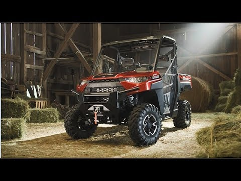 2020 Polaris Ranger XP 1000 Premium Winter Prep Package in Jamestown, New York - Video 1