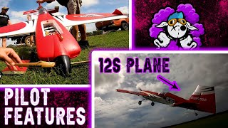 Featuring Fpv Pilots: Pinky Fpv - 12s rc plane chase and freestyle