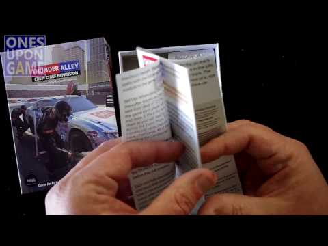 Thunder Alley Crew Chief Expansion Unboxing by Ones Upon a Game