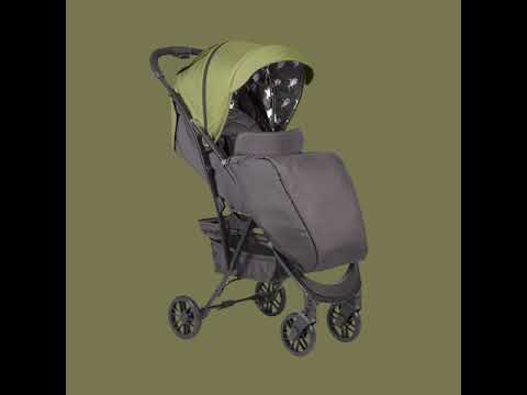 Коляска прогулочная HAPPY BABY ELEGANZA V2 (bordo)