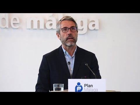 Presentación de los ejes de actuación del Área de Desarrollo Económico y Social del Plan Málaga