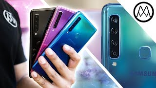Samsung Galaxy A9 - The QUAD Camera Beast! 🔥
