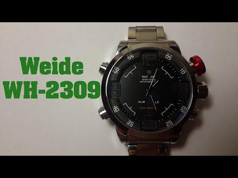 Часы Weide WH-2309 обзор, настройка, проверка на водонепроницаемость