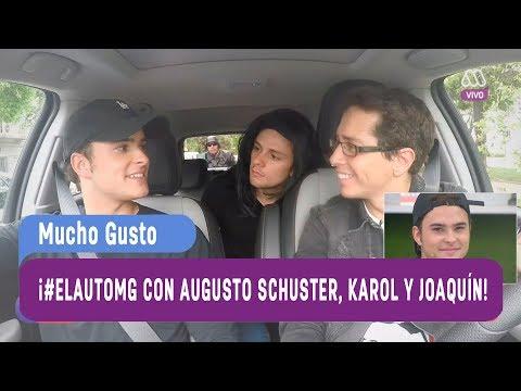 Augusto Schuster, Karol Lucero y Joaquín Méndez en #ElAutoMG