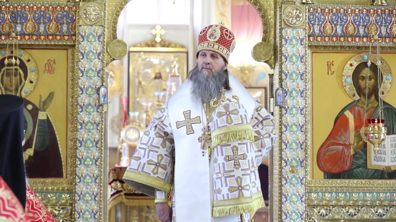 Литургия в Неделю 4-я по Пасхе, о расслабленном. Проповедь митрополита Даниила