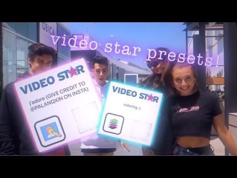 Video Star Presets   transitions, shakes, cubes and colorings!