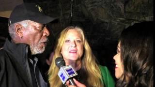 Morgan Freeman & Lori McCreary The C Word  Interview HIFF 2015