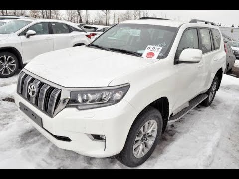 Toyota Land Cruiser Prado 2019 тест-драйв
