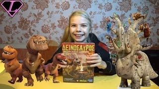 Распаковка игрушек Раскопки Велоцераптора Toy unboxing Veloceraptor