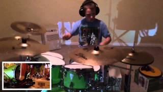 Tyler Briggs - The Word Alive - broken circuit - drum cover