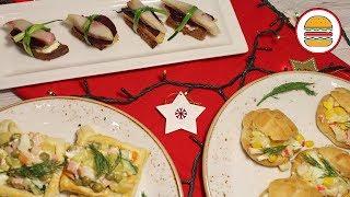 3 блюда на праздничный стол. Меню на новый год 2019. Новогодняя классика в новом формате