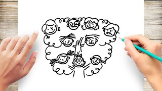 How To Draw A Family Tree Easy For Kids