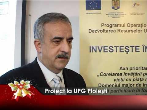 Proiect la UPG Ploieşti