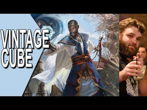 """Vintage Cube #8   """"draft whatever tf you want"""" stipulation   Magic Online Gameplay"""