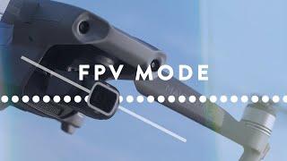 Shoot Awesome FPV footage with Mavic Air 2 | Mavic Air 2 FPV Mode Tips