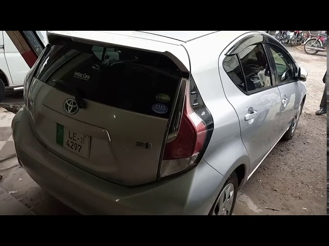 Toyota Aqua S 2015 for Sale in Multan