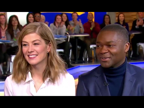 David Oyelowo, Rosamund Pike Interview on 'A United Kingdom'