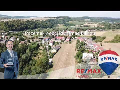 Video Prodej pozemku 5546 m², Rtyně nad Bílinou