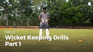 Wicket Keeping Drills - Part 1 | Cricket