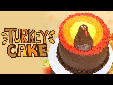 Thanksgiving Turkey Cake Tutorial. TastyDelights.