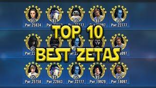 Top 10 Best Zeta Feb 2018   Star Wars: Galaxy Of Heroes - SWGOH