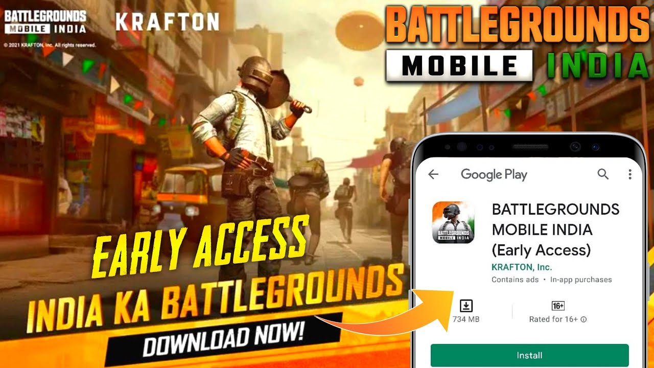 FINALLY BATTLEGROUNDS MOBILE INDIA IS HERE   BGMI Early Access